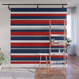 Flag Stripes Wall Mural