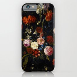 "Jan van Kessel the Elder ""Floral still life"" iPhone Case"
