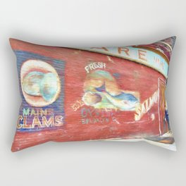 Fresh Oysters NYC Rectangular Pillow