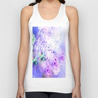 roses Tank Tops featuring Roses  by Saundra Myles