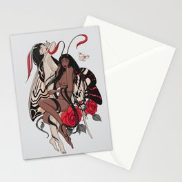 Lepidopterophobia Stationery Cards