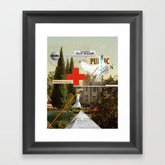 Pain Killer Framed Art Print