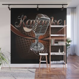 Karaoke King Wall Mural