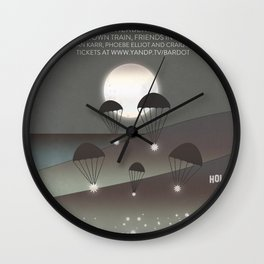 Filligar at Bardot Hollywood Wall Clock