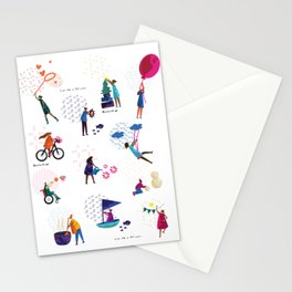 colorHIVE characters Stationery Cards
