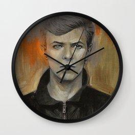 Heroes painting Wall Clock