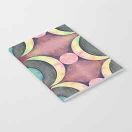 Birth of the Moon pattern Notebook