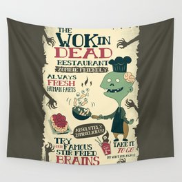 The Wok In Dead (v.2) Wall Tapestry