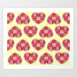 Pinstripes Art Print