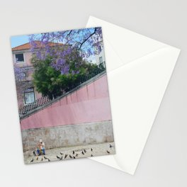 Paint me pink Stationery Cards