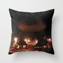 2:30 Gypsy Series: Evaporation Spell Throw Pillow