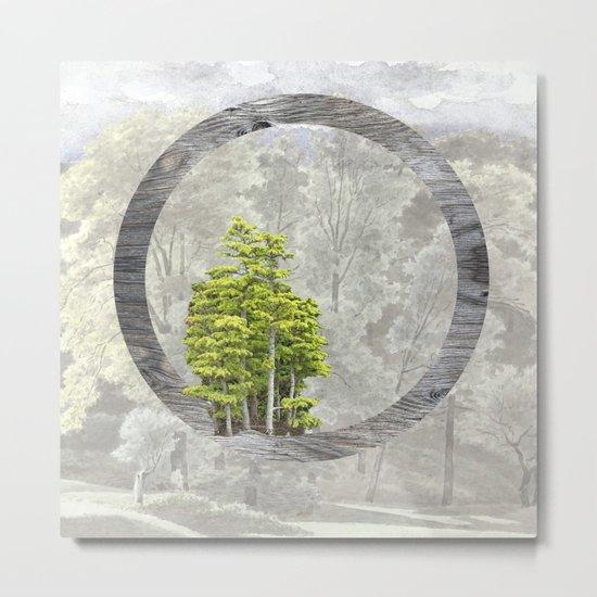 'Trees are sanctuaries' Metal Print