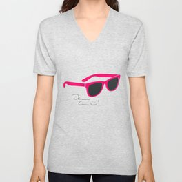 Darren Criss Glasses Unisex V-Neck