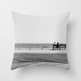 Brighton Beach Throw Pillow