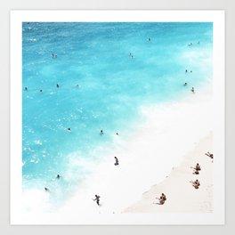 people of the sea Art Print
