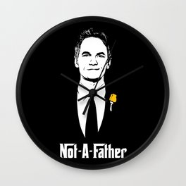 Not-A-Father Wall Clock