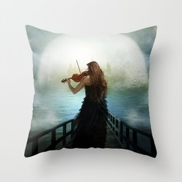 The Heavenly Hope Throw Pillow