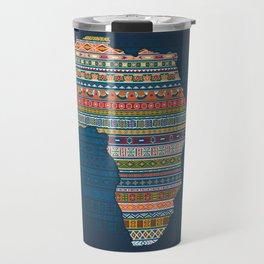 Africa map Travel Mug
