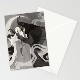 Krampus and Perchta III Stationery Cards