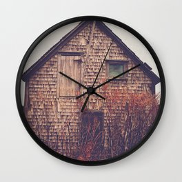 She Created Stories About Abandoned Houses Wall Clock