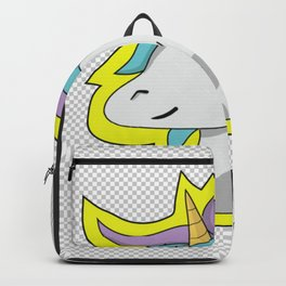 Cute crazy Unicorn - School Homework Funny Magic  Backpack