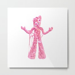 Bubble Gumby Metal Print