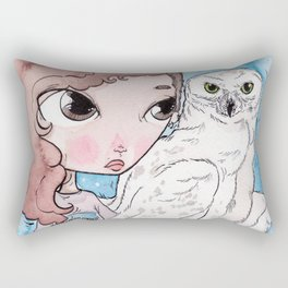 witch and the killers Rectangular Pillow