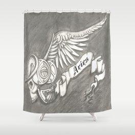 Horroroscopo Aries Shower Curtain