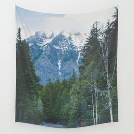 Glacier Roads Wall Tapestry