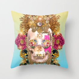 ICE ME OUT Throw Pillow