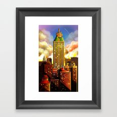 A bautiful day Framed Art Print