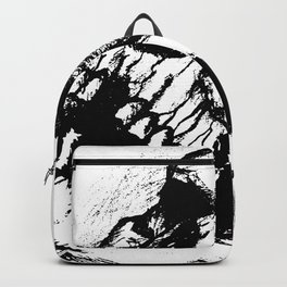 skull sketch tattoo Backpack