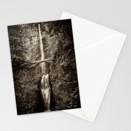 Waterfalls-B&W-Sepia Stationery Cards