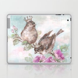 French Crown Songbirds I Laptop & iPad Skin