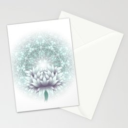 Tibet. Sacred geometry. Flower of Life Stationery Cards