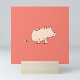 piggy bank Mini Art Print