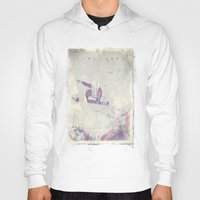 snowboard Hoodies featuring Explorers IV by HappyMelvin
