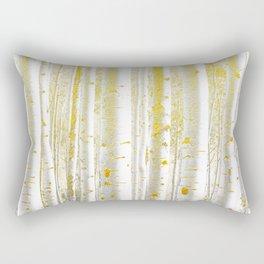 255 Gold Birch Rectangular Pillow