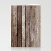 wooden Stationery Cards featuring Wooden Texture by Patterns and Textures