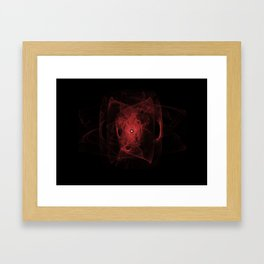 Inner Fire Framed Art Print
