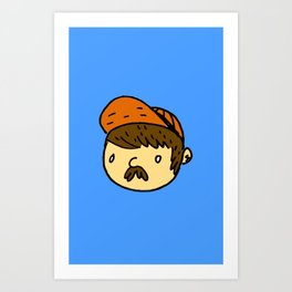 Just Your Average Guy Art Print