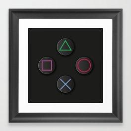 Choose your weapon 1 Framed Art Print