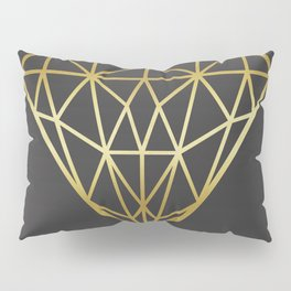 Golden diamond III Pillow Sham