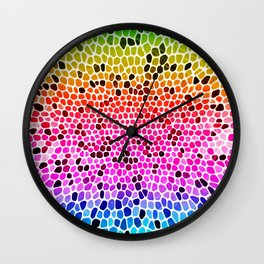 THINK RAINBOW Wall Clock
