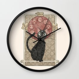 Lune Noire (Luna Sailor Moon) Wall Clock