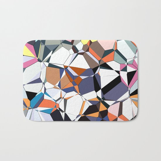 Abstract Geometric Chaos Bath Mat