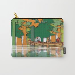 Land Of The American Natives No. 4 Carry-All Pouch