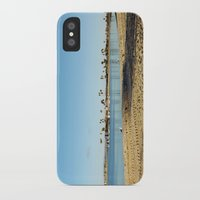 san diego iPhone & iPod Cases featuring San Diego by Audrey Mourgues