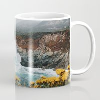 big sur Mugs featuring Big Sur - Micah Hamilton by Micah Hamilton