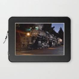 UP 4014. Union Pacific.  Steam Train Locomotive. Big Boy. © J. Montague. Laptop Sleeve